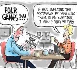 Boston Globe cartoon spot on !