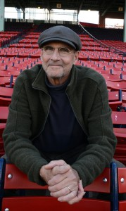 ( Boston, MA,  10/24/13) James Taylor at Fenway Park,  after rehearsing the national anthem prior to singing it at game 2 of the World Series against the St. Louis Cardinals.   ( Thursday, October 24, 2013).  Staff Photo by Arthur Pollock