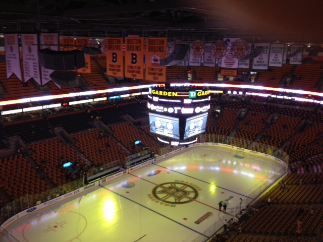 Notes From The 9th Floor At Td Garden