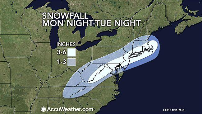 snow tonight