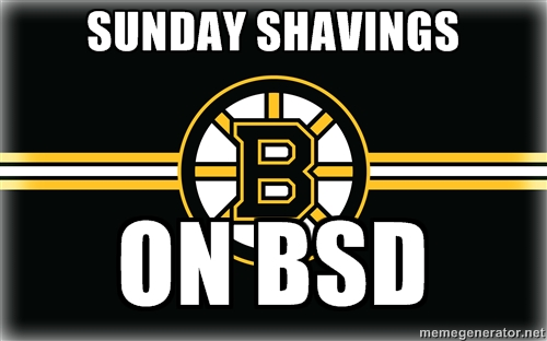 Sunday Shavings
