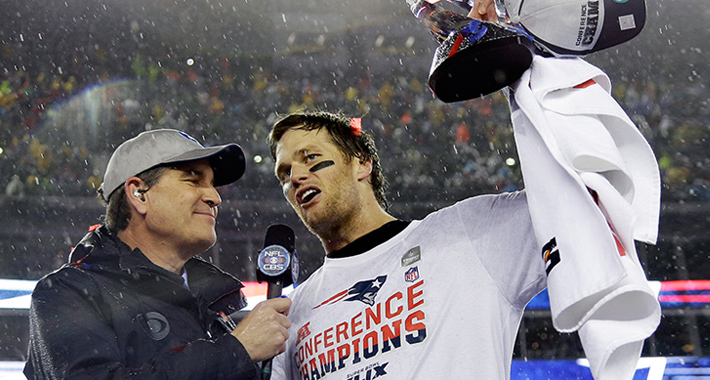 """BRADY ON PLAYING SEATTLE..""""WE'LL BE READY TO GO !"""""""