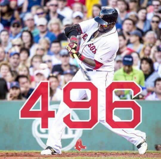 Ortiz creeping up on #500, Sox and Phillies again today