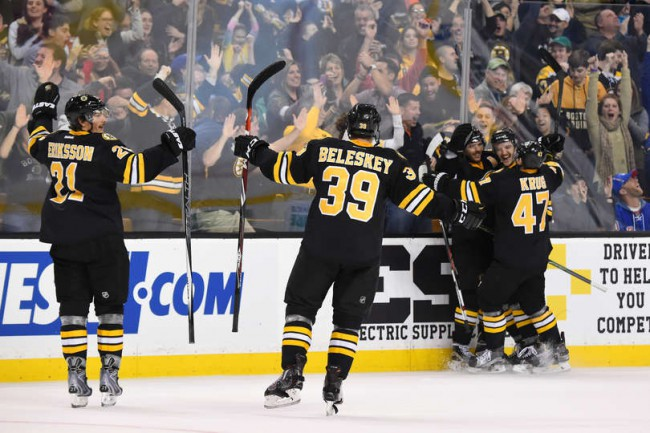 Is the Bruins rebound win against the Rangers a statement?  Only time will tell