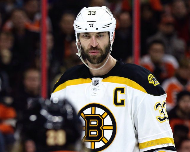 Chara out,  Pastrnak in the line up for Bruins tomorrow night