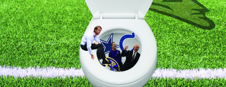 Deflategate karma toilet….it's a bitch !