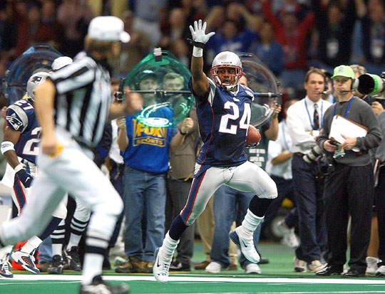 Ty Law to serve as Honorary Captain on Sunday