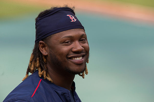 Has Dombrowski found a new dog house for Hanley the Hound?
