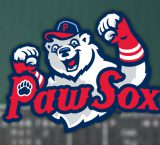 Cuevas takes the ball for Paw Sox in Charlotte