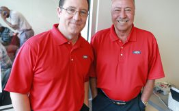 (Fort Myers , FL, 02/29/16) Dave O'Brien and Jerry Remy, broadcasters on NESN for Red Sox Game's at JetBlue Park on Monday,  February  29, 2016.  Staff photo by Matt Stone