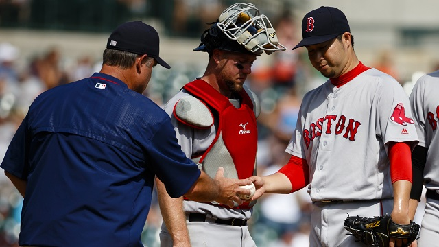 Mistakes both on the mound and in the dugout could ruin the Red Sox chances down the stretch