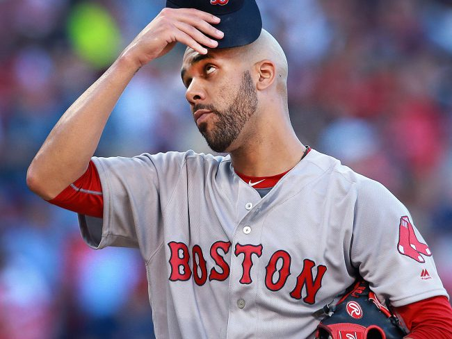 Price takes the mound vs Jays this afternoon