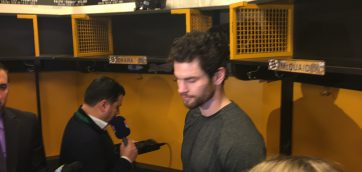 Adam McQuaid rehashes what happened on Chicago's late goal