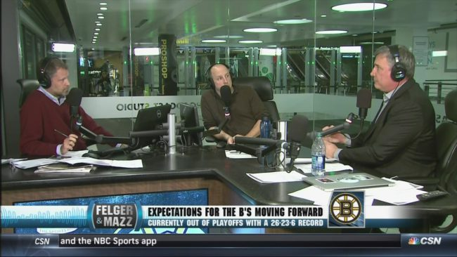 Is the B's president already pushing away from his GM? Neely's radio interview raises more questions than it answers