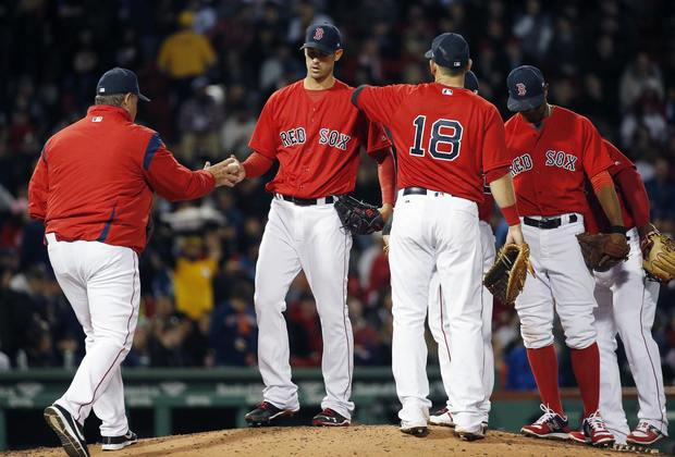 Minus Chris Sale, the Red Sox starting rotation has been suspect