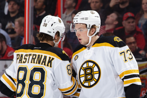 Bruins put Krejci on IR, Marchand not playing tonight vs Wild