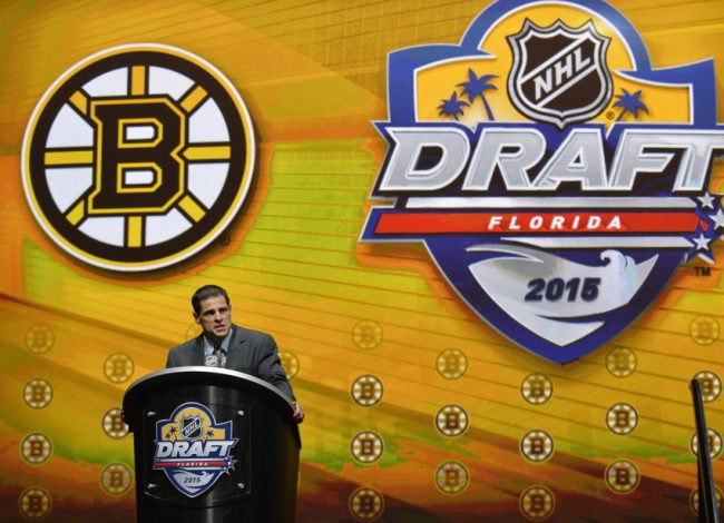 When it comes to the Bruins first round pick in the NHL draft, Sweeney should stick with his strength