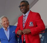 Raymond Clayborn inducted into Patriots HOF
