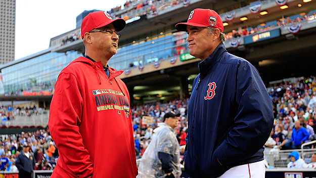 Francona and Farrell are at opposite ends of the spectrum as managers