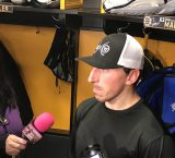 Marchand scores twice in loss to Sabres