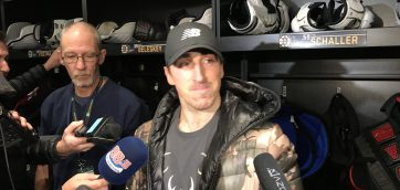 Brad Marchand not ready to get back in the lineup