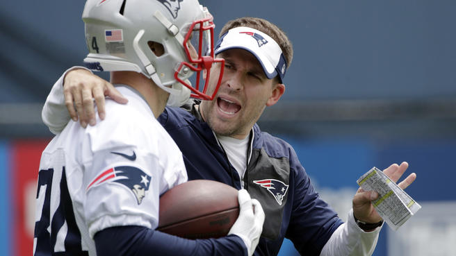 Josh McDaniels meets with the media: JETS up next