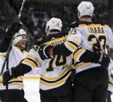 Bruins vs Pens press box notes