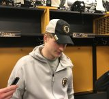 Danton Heinen post game interview