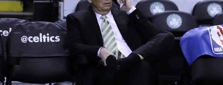 Danny Ainge gives a State of the Celtics presser