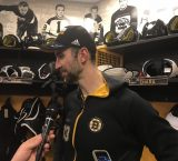 Chara knew back at the start of the season that this Bruins team had a chance to go deep into the playoffs