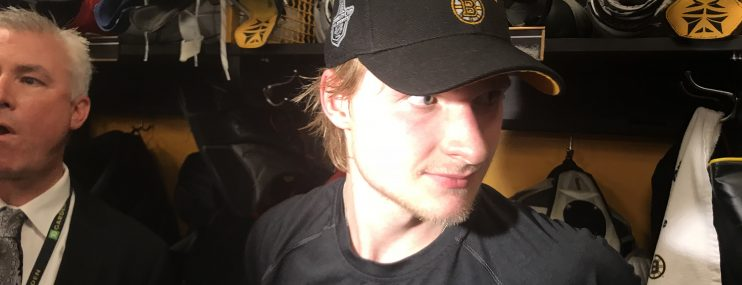 Inserted back into the lineup, Heinen responds with a key goal