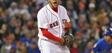 Betts and Martinez pound Sox past Braves