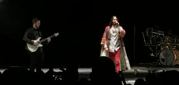 Thirty Seconds to Mars Launches Forth Into the Deep