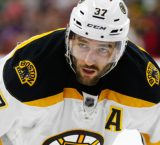 Bergeron will be out a minimum of 4-weeks with shoulder injury