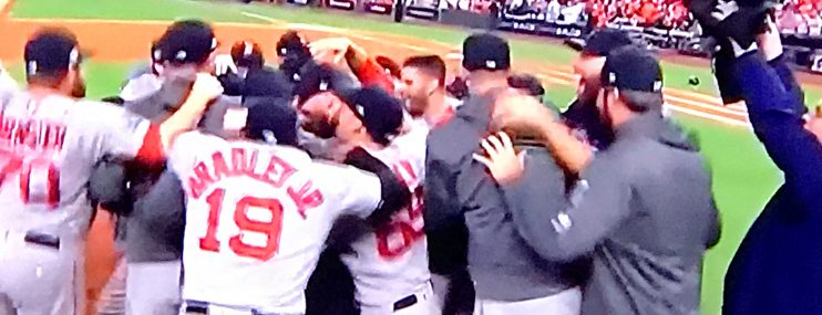 Red Sox are heading to the World Series !