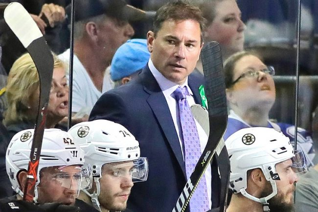 With the injury bug biting hard again, the Bruins best asset might just be behind their bench
