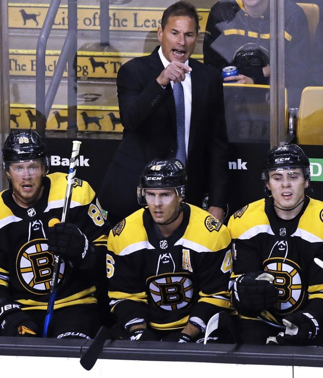 Bruins take on Nashville this afternoon