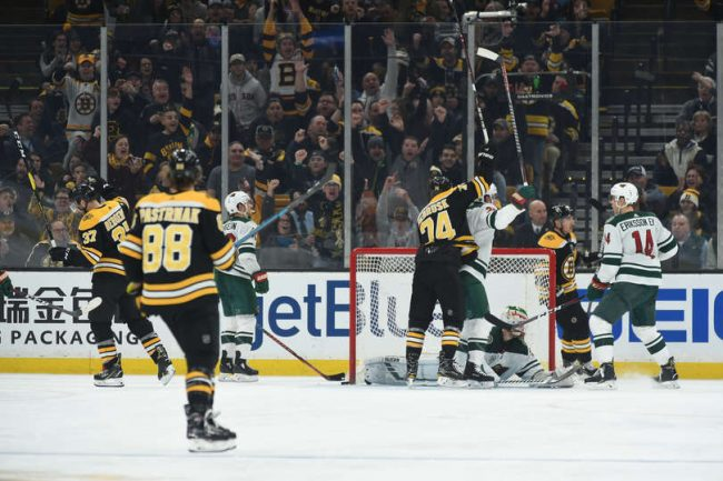 The Bruins are on a healthy streak, it's now Sweeney's job to make them stronger for the spring