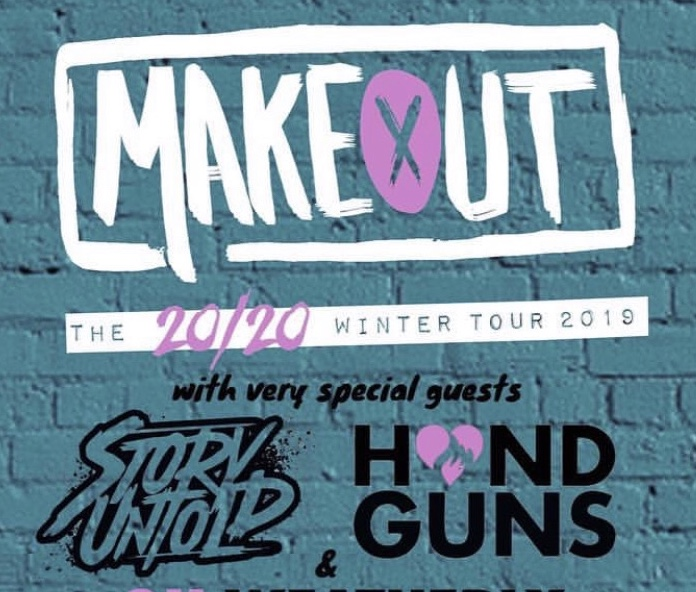 Handguns, Story Untold, and MAKEOUT Encourage Listeners to be Open-Minded about Pop Punk
