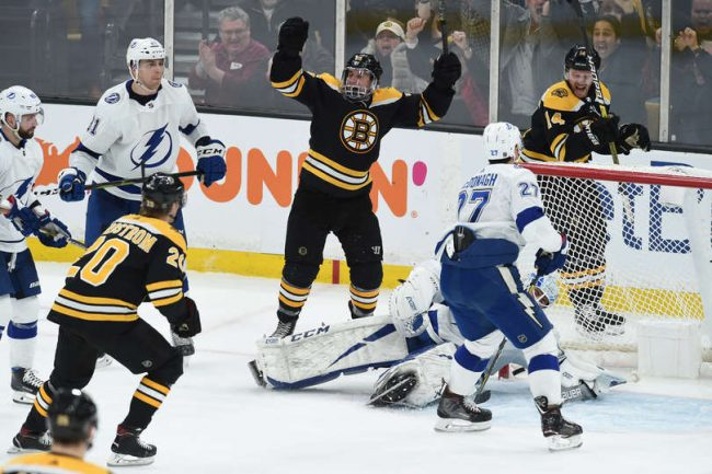 Time to pump the brakes on the Bruins win over the Bolts