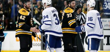NHL's playoff system further lessens the importance of the regular season for teams like the Bruins and the Maple Leafs