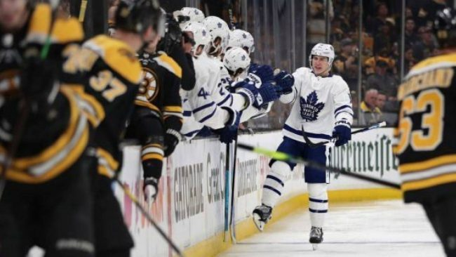 Savvy prediction – former B's point producing pivot was spot on prior to the Game 1 loss to the Leafs