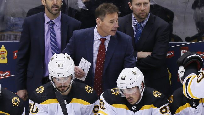 Cassidy's return to form behind the B's bench directly leads to series tying Game 4 victory