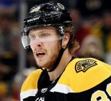 Pastrnak post game discusses his 4-goals