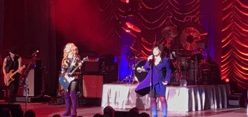 Fans Go Crazy on Heart's Love Alive Tour at Xfinity Center in Mansfield
