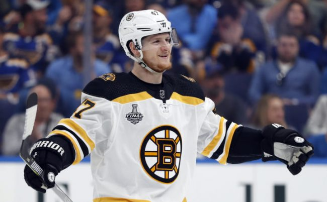 Despite their protests, the B's brass knows that trading Krug is the most likely scenario to get McAvoy and Carlo signed