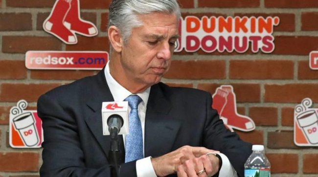 Dombrowski did his job but his time in Boston has passed – Henry needs an architect, not a spendthrift for the Sox future