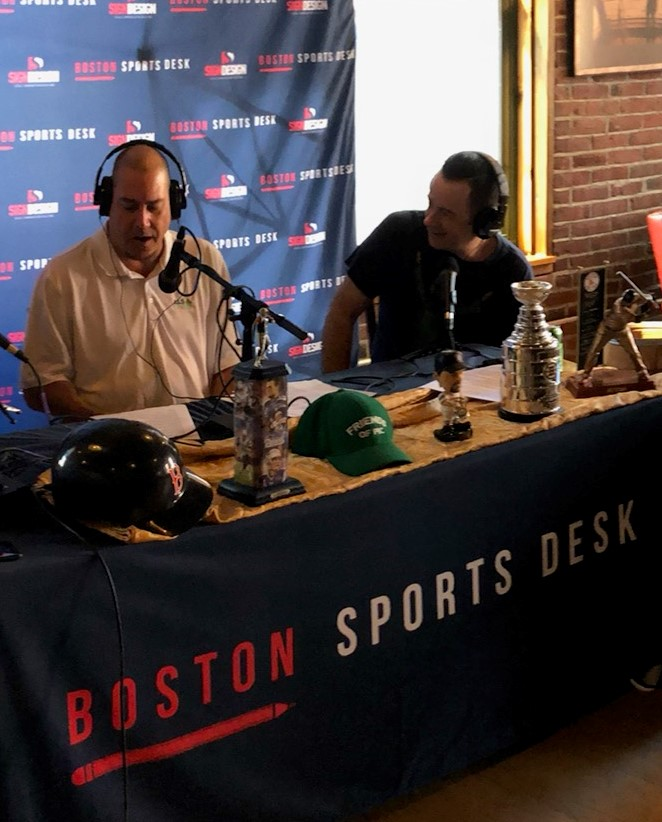 The Hockey Craic – featuring Jimmy Murphy of Boston Hockey Now & BSD's Kevin Flanagan debuts on Facebook Live Saturday prior to the Bruins home opener at The Legacy Club on Canal Street