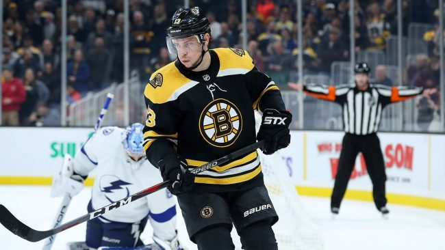 Failure to add depth at forward is once again proving to be the Bruins biggest flaw