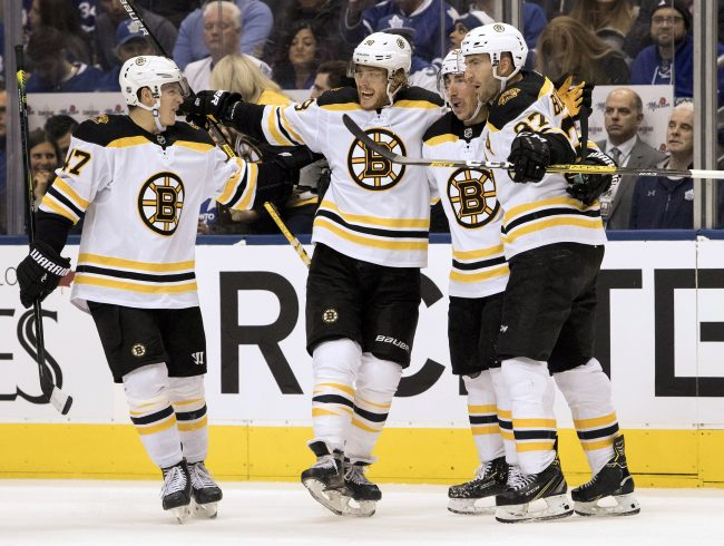 Bruins fast start doesn't mean Sweeney won't look to add secondary scoring